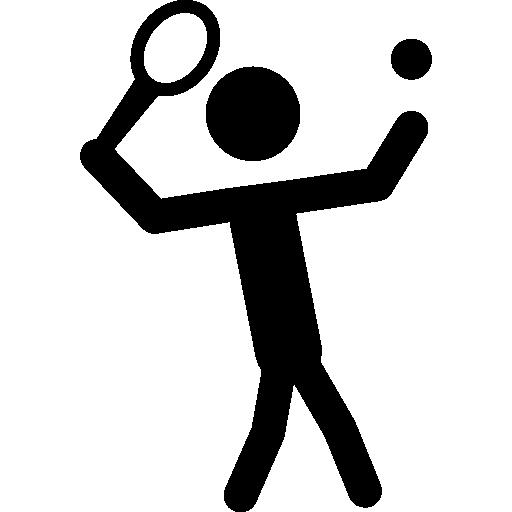 icoon tennis speler